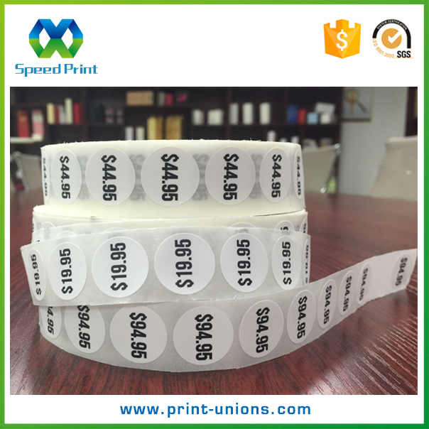 Packaging roll labels custom cheap date code stickers