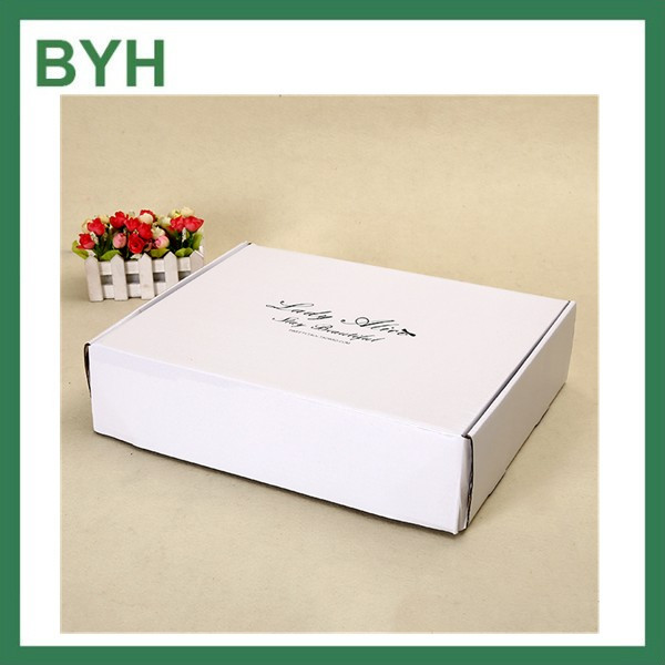 custom logo luxury clothing box t-shirt packaging boxes