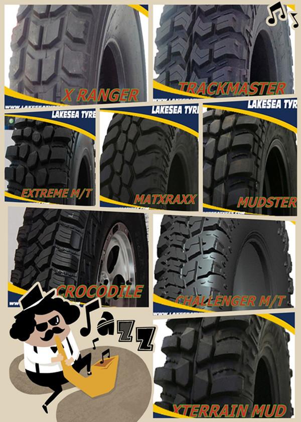 Mudster Tire 185r14c Offroad Tyres 4x4 Crocodile 4x4 Mud Terrain