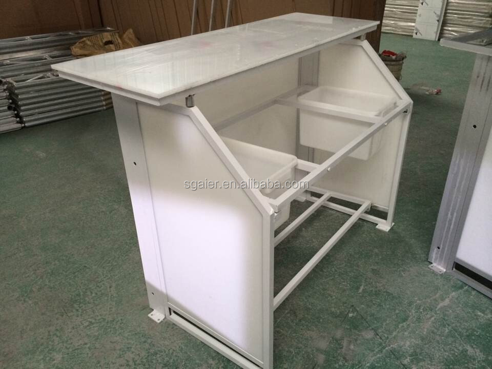 Portable Counter Folding Bar Table For Club And Event Music