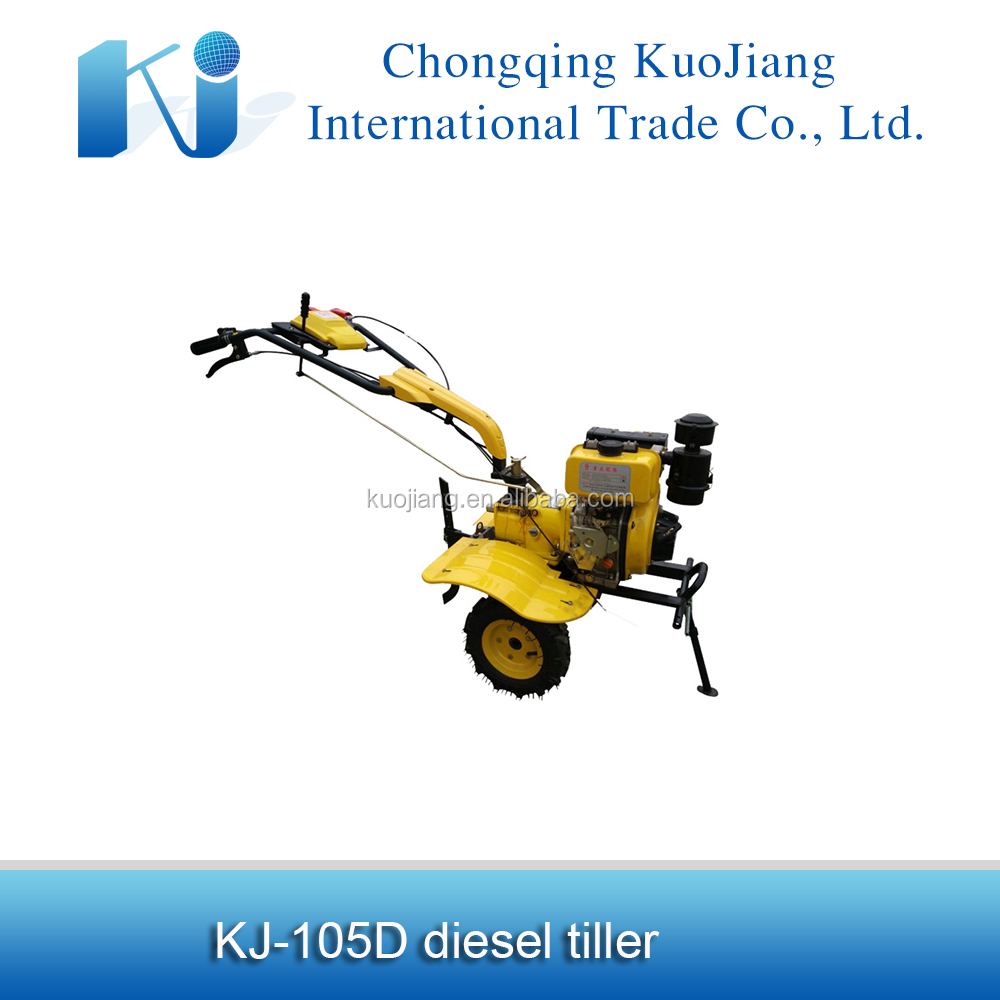 Hot sale China 6hp diesel garden machinery/tilling cultivator for sale