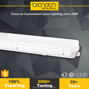 4FT Chinese IP65 Linear Wet Location fixture Tri Proof LED Vapor Tight light