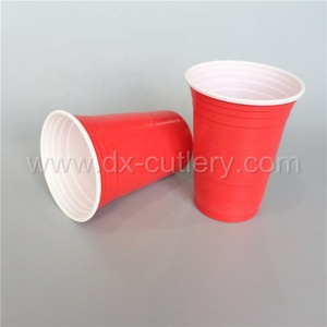 9oz 16 oz Superior Quality Low Price Party Red Disposable Plastic Solo Cup