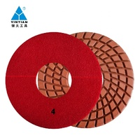 250mm diamond polishing pads A grade for wet use