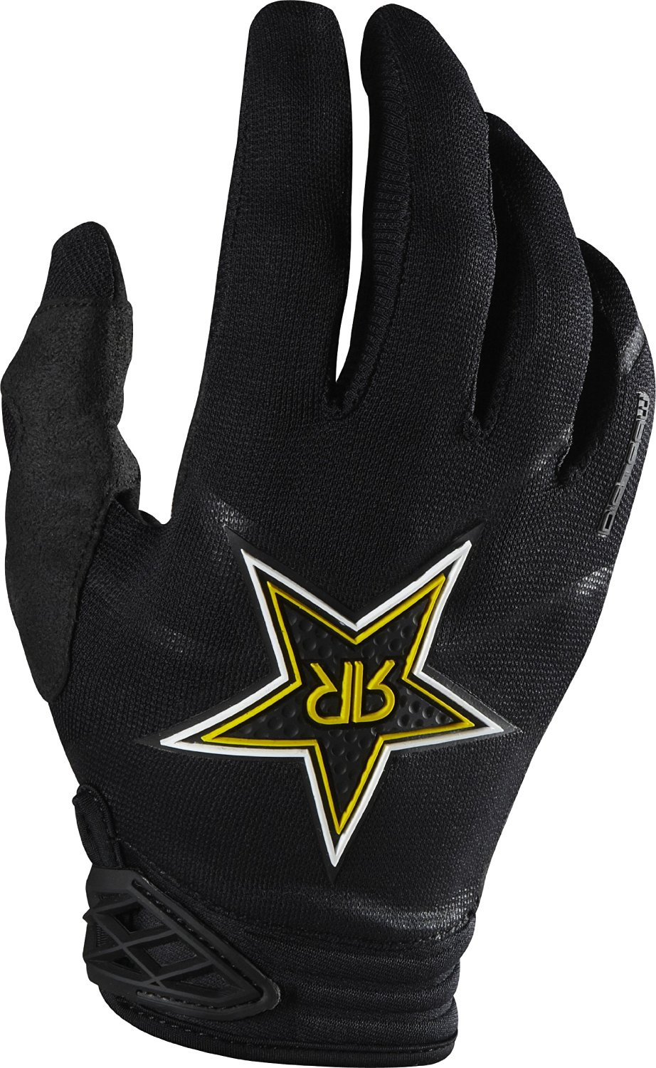 Fox Racing Dirtpaw Rockstar Men's Dirt Bike Motorcycle Gloves - Black / 2X-Large