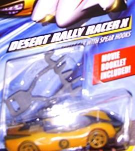 Speed Racer Hot Wheels Desert Rally Racer X and Mach 5 Hot wheel D. R.