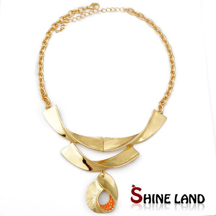 Costume Jewelry Gold Alloy Imitation Diamond Jewelry  sc 1 st  Meningrey & Diamond Costume Jewelry Necklaces - Meningrey