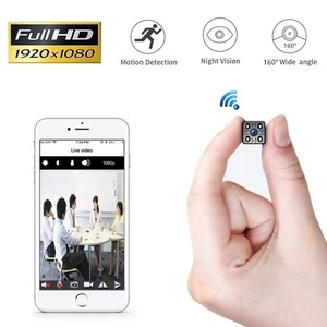 Smallest 4k resolution long range nightvision security mini video cam wifi hidden camera