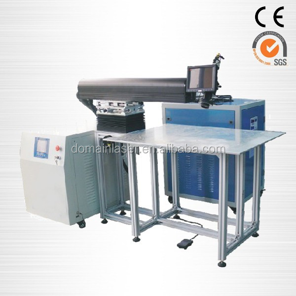 fiber optic handheld Operating flexibility CNC Laser welding machine word