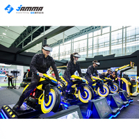 Vr driving simulator riding virtual reality motorcycle simulador de realidad virtual car