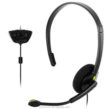 2017 For Xbox 360 Headset Headphone with Mic Compatible with Wireless Controller