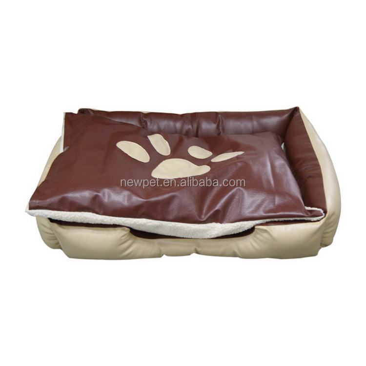 Custom made promotional footprint pet bed sofa and nest animal cage pet beds for dogs