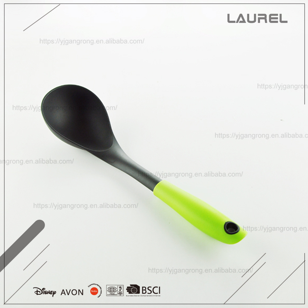 nylon kitchen tool with PP hollow plastic handle