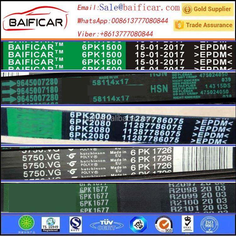 For Chery A3 Ac Compressor Bletfor Chery 481 Engine V Belt Pk Belt