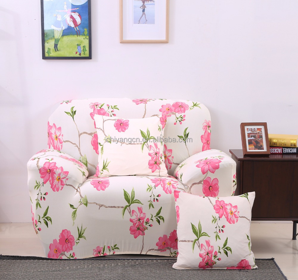 Hot sale most professional sofa cover manufacturer stretch elastic sofa cover slipcover