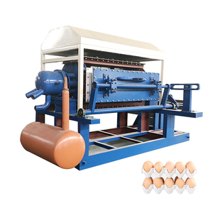 Henan fuyuan new machine for small business waste paper recycling automatic egg tray machine price