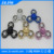 18 beads 3 Sides Fidget Spinner Toy Relieve Stress High Speed Focus Toy for Killing Time