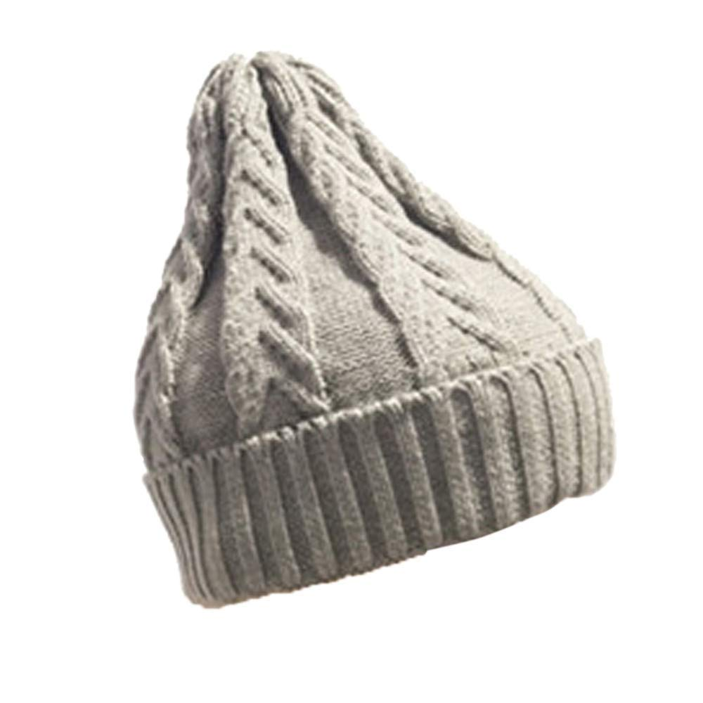 5c302380105 Get Quotations · Inkach Baby Knit Lined Hats