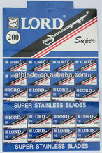 LORD STAINLESS STEEL DOUBLE EDGE RAZOR BLADE