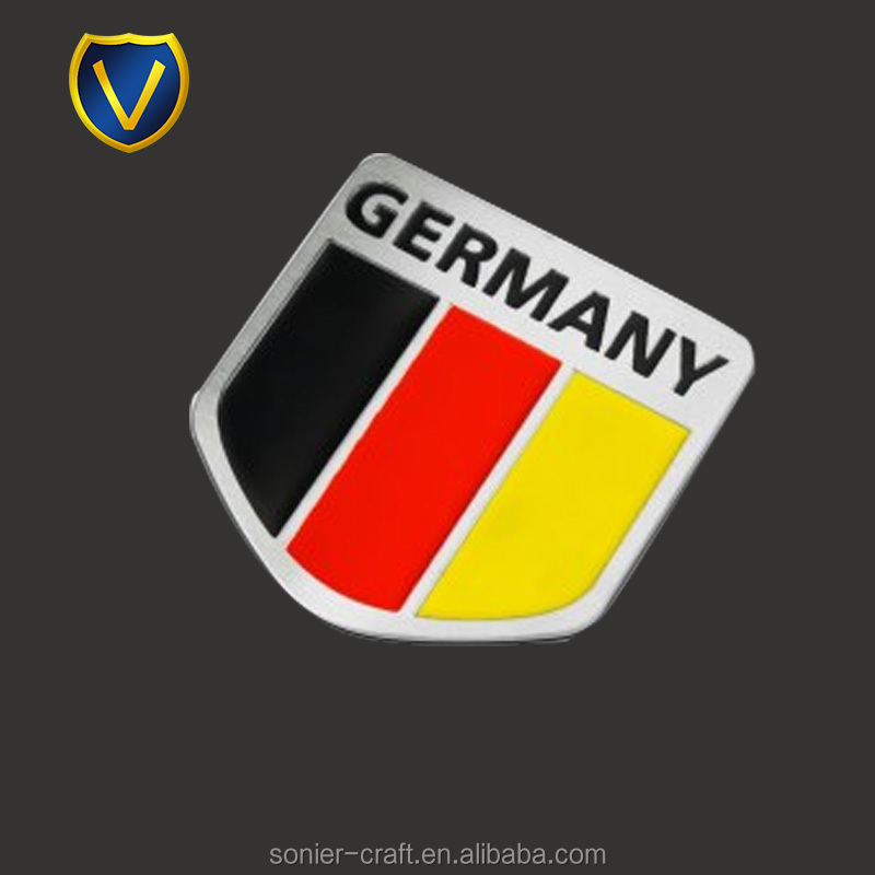 Vehicle Parts & Accessories German Red Cross Badge Car Grill Emblem Logos Metal Enamled Car Badge Keep You Fit All The Time Car Badges