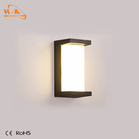 Rectangle modern outdoor project led wall sconces