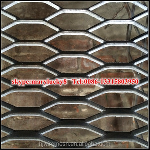 expanded metal walkway steel grating/expanded metal mesh price