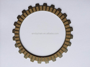 Good Quality Paper Base Motorcycle Clutch Disc Friction Plate Model TWISTER Motorcycle Parts