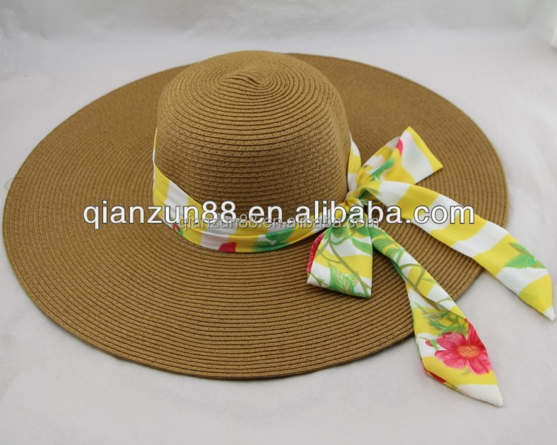 cheap plain cuatom decorating straw lady hats