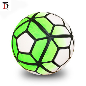 Futbol topu wholesale inflatable football size 5 size 4 green color custom soccer ball