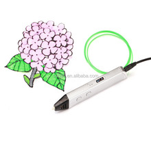 3D Pen for Printing in the Air 3D Drawing Pen for Doodling Art Tool with 3 Loops ABS