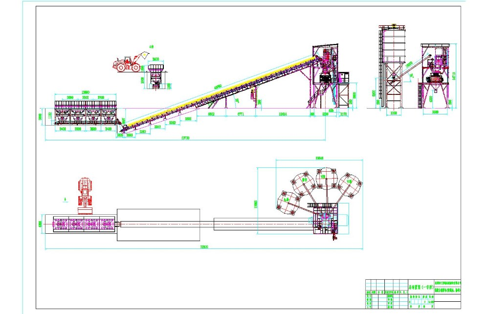 Ready Mix Layout