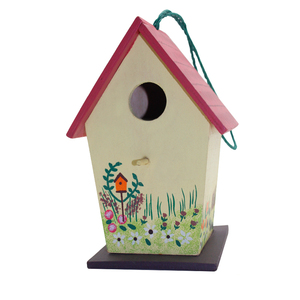 Door And Easy Open Design Layer Coop Commercial Flat Pack Water Proof Bird House