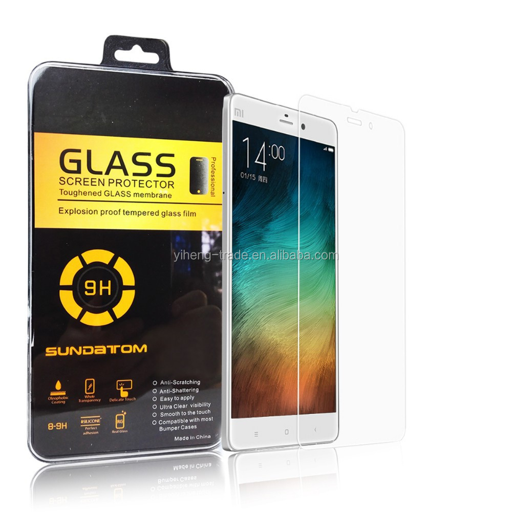 0.3mm 2.5D High Transparent Premium Tempered Glass Screen Protector For Xiaomi 4/4i/4s/redmi note 3