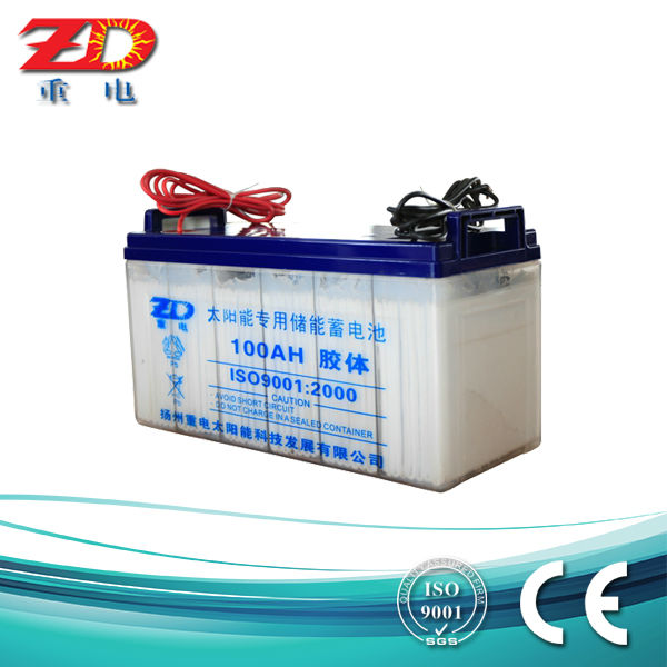 Solar Gel Battery 12V 100AH