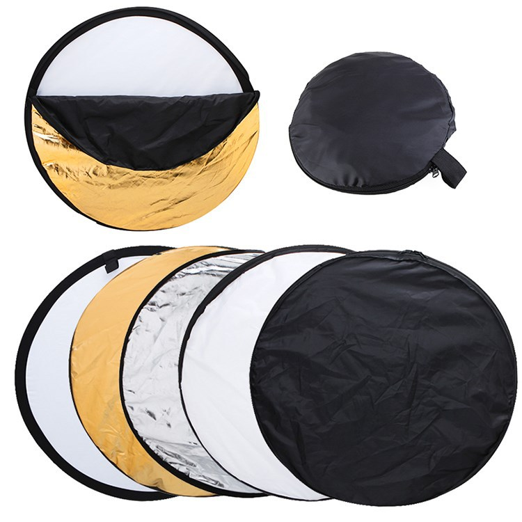 43.3 inches 110cm 5 in 1 Collapsible photography supplies studio accessories reflector