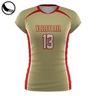 sublimation custom volleyball jersey uniform design
