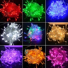 Wedding Fairy Christmas Lights Outdoor Twinkle Christmas tree Decoration 10M 100 LED String Lights