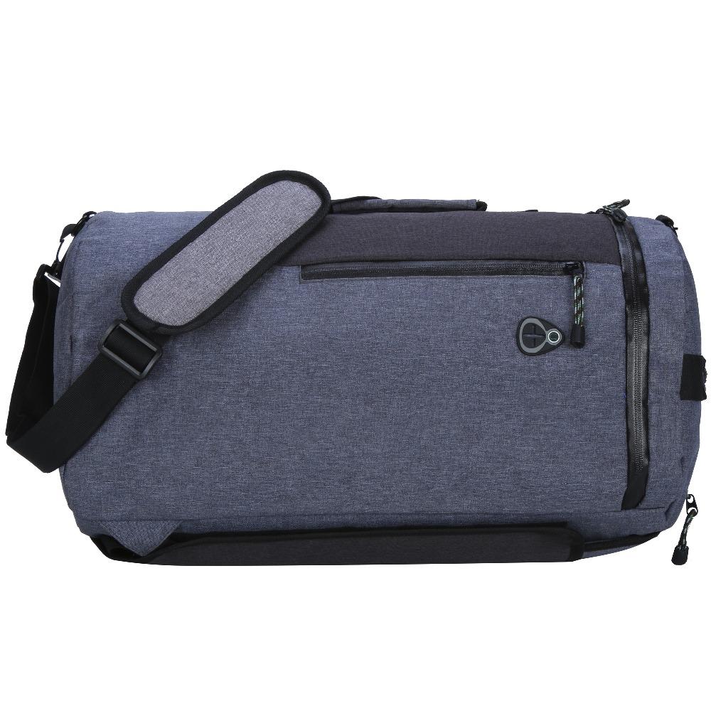 Week-end blu oxford duffle sport palestra zaino totes sacchetto personalizzato con logo personalizzato
