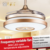 Wonderful light hot sale indoor ceiling fan lights 36w with remote controlled
