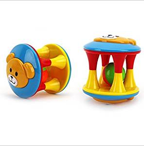 Children's Educational Toys 0-3 Years Unisex Loud Jingle Ball, Ring Jingle Develop Baby Intelligence, Training Grasping Ability