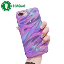 Deep sea ripple cell phone case technology dropproof protective cover smooth IMD case for iphone 7