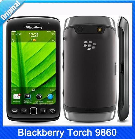 Refurbished Original Unlocked BlackBerry Torch 9860 3G Phone WiFi GPS 5 0MP  Pix Camera Free shipping