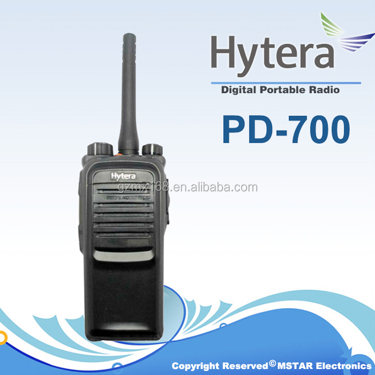 Professional Digital Hytera PD708/PD700 Two-Way Radio walkie talkie