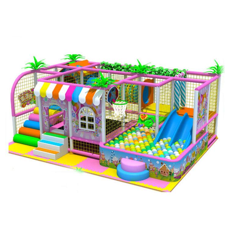 Huishouden kinderen indoor ondeugende spel speeltuin slides met indoor klimwand