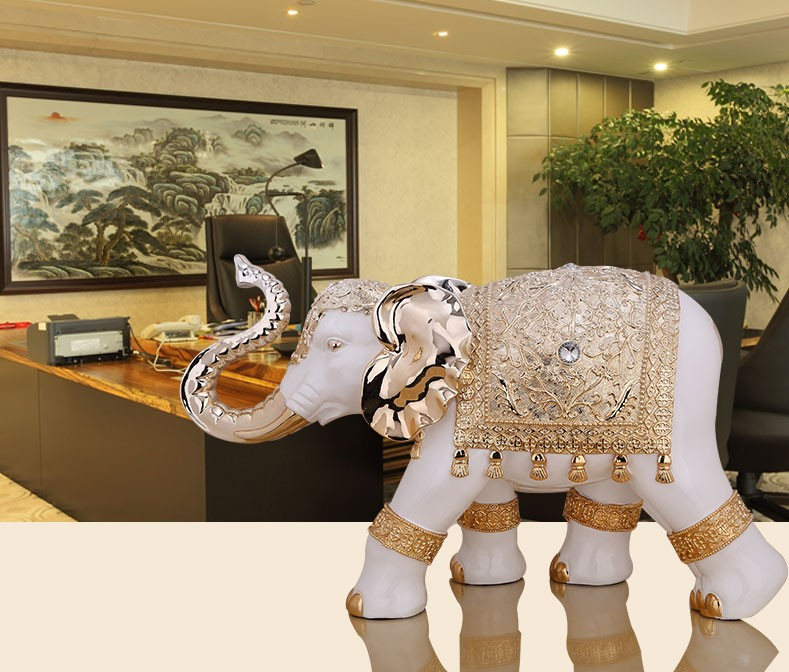 Wholesale China Brilliant Quality Home Ornament Large Elephant