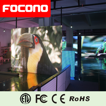 focono 2015 new product latest P10 LED display for commercial advertising