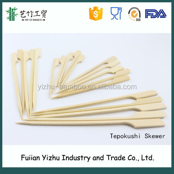 Wholesale bamboo products low price fruit knife stick
