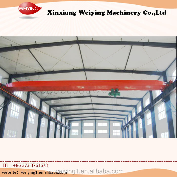 Traveling Beam Steel Factory Overhead Crane