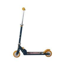 Two Big Large Wheel Foot Folding Pedal Kick Scooters For Adults Kids