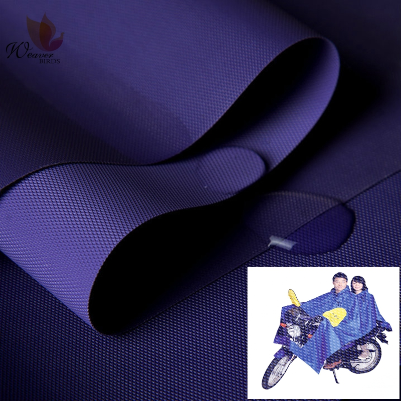 Hot Sales Strong Waterproof Raincoat Fabric Polyester 210D PU Coated Oxford Fabric For Outdoor Clothing